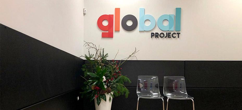 Sala de espera Global Project